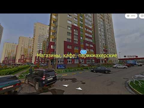 """ЖК """"Цветы"""". Февраль 2019 года. Новостройки. Нижний Новгород."""